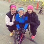 Thanksgiving Day race with my mom and one of her good friends. 11/28/13