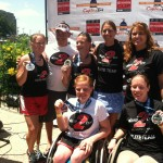 Dare2tri Elite Team Post Paratriathlon National Championships.