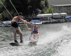 Who says water skiing cant be cross-training?