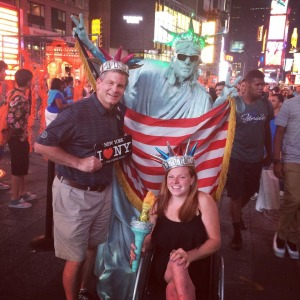 New York- Exploring New York with my Dad & completing my first Olympic Distance Triathlon