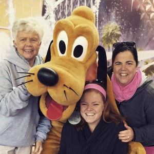 Lucky to have had both my Mom & Grandma in Disney with me.