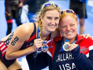 USA Paratriathlon left London with 2 medals!